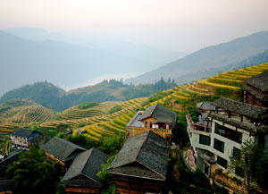 Longji Terraced Fields in Ping'an Village