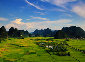 Guilin Countryside Scenery