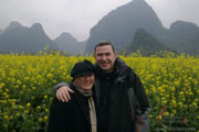 Happy Tourists in Yangshuo