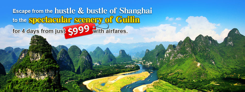 Guilin and Shanghai Tour