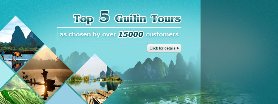 Top 5 Guilin Tours