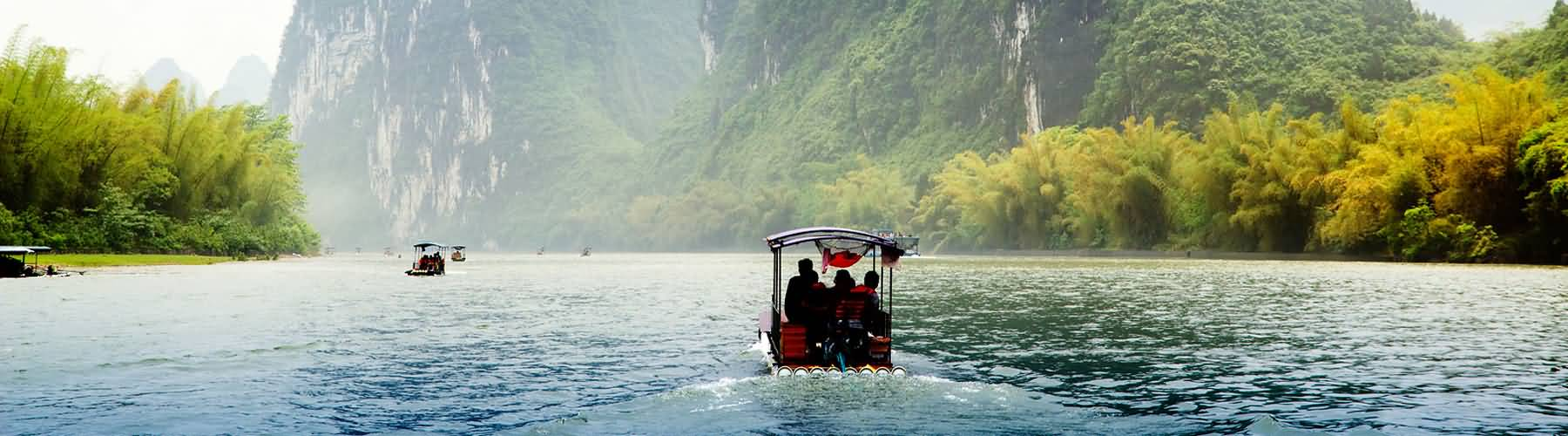 Bamboo Raft on Li River