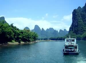 get to Guilin by boat