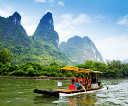 Bamboo Rafting on Li River
