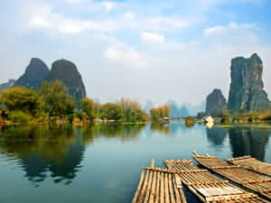 Yulong River in Summer